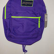 Jansport Girls Backpack Purple Photo