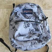 Jansport Gray Backpack Book Bag Photo