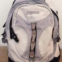 Jansport Gray Backpack With Gel Mesh Photo