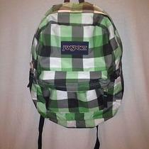 Jansport Green and Black Backpack Photo