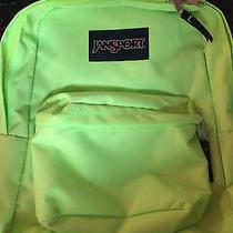 Jansport Green Backpack Photo