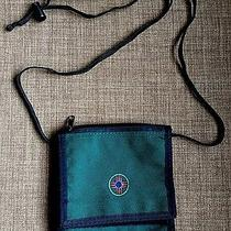 Jansport Green Crossbody Long Travel Wallet Nice Outdoor Shoulder Pouch Photo