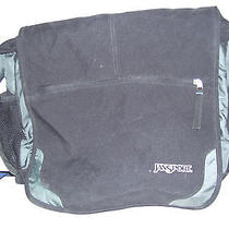 Jansport High Quality Computer Shoulder Messenger Bag  Black Poly Briefcase Photo