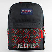 Jansport High Risk Red Shady Angles Pocket Backpack 16