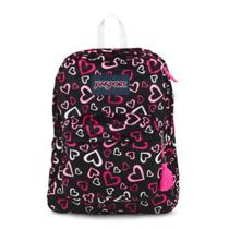 Jansport High Stakes Backpack in Pink Tulip Lots of Love Trs7zr8 Photo