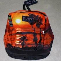 Jansport High Stakes Multi Laguna Sunset Backpack Nwt  Photo