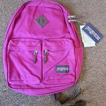 Jansport Hoffman Backpack T2969zi Berrylicious Pink New Other/defects Photo