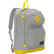 Jansport Houston Laptop Backpack Grey Rabbit Photo