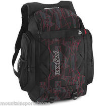 Jansport Instigator Backpack Black/red Tape Tri Dip Txc5-8fr Photo