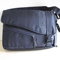 Jansport Laptop Messenger Bag - Black/purple - Nwot Photo
