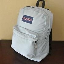 Jansport Light Blue Baby Blue Bookbag Backpack  Photo