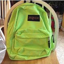 Jansport Lime Green Bookbag Photo