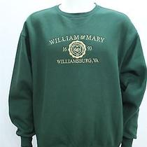 Jansport Men's Large College of William & Mary Green Crewneck Sweatshirt Photo