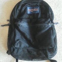 Jansport Mesh Backpack Green Photo