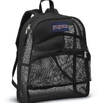 Jansport Mesh Backpack or Book Bag Black Photo