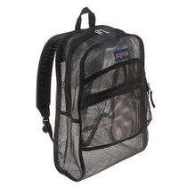 Jansport Mesh Backpack School Straight-Cut Padded Shoulder Straps Color Option Photo