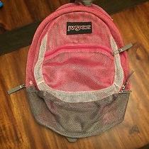 Jansport Mesh Book Bag Pink Photo