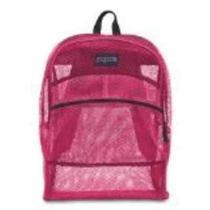 Jansport Mesh Pack Backpack  Pink Tulip Photo