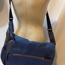 Jansport Messenger Bag Blue Black Gray Laptop School Bag College Photo