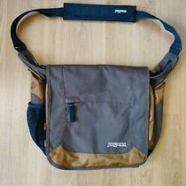Jansport Messenger Bag Crossbody Bag Adjustable Strap Brown Very Nice Bag/laptop Photo
