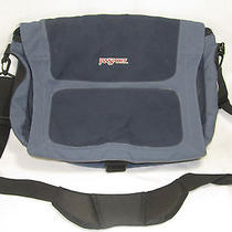 Jansport Messenger Bag Laptop Computer School Back-Pack Blue  Photo