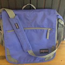 Jansport Messenger Bag Purple Photo