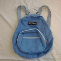 Jansport Mini Backpack Blue Photo