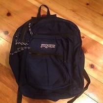 Jansport Navy Blue Backpack Photo
