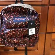 Jansport New Super Break Splatter Dot Splitter Laptop School Bag Backpack Photo