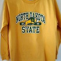 Jansport North Dakota State University T Shirt Logo Long Sleeve Youth Medium Photo