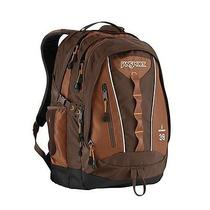 Jansport Odyssey Travel Laptop School Day Bag Backpack Tvu63cc  Brown Nwt Photo
