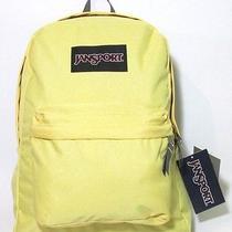 Jansport Original Yellow / Grey Superbreak T501 Backpack Bag Book  Photo