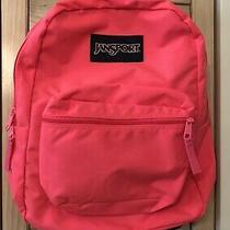 Jansport Pink Backpack Excellent Hiking Walking Outdoors Nature School Photo