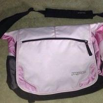 Jansport Pink Laptop Messenger Bag Backpack Photo