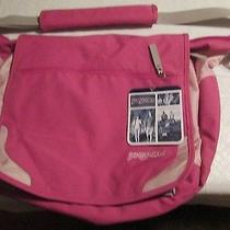 Jansport Pink Laptop Messenger Bag New With Tags Photo