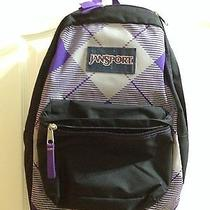Jansport Purple Backpack  Photo