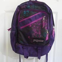 Jansport Purple Backpack Bookbag Photo