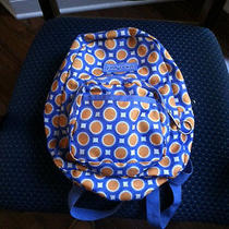 Jansport Purple/blue Orange Circles Small Backpack/ Book Bag Photo