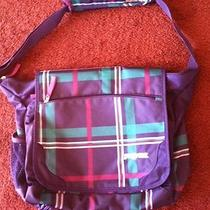 Jansport Purple Computer Bag/ Book Bag Photo