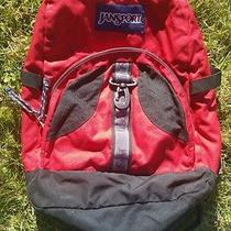 Jansport Red & Black  Backpack Bookbag - Awesome Price Photo