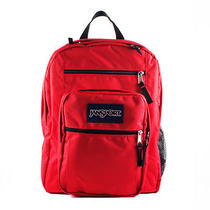 Jansport Red Tape Big Student Backpack Book Bag School Tdn75xp New Nwt Photo