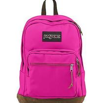 Jansport Right Pack Backpack Cyber Pink Photo