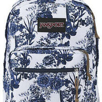 Jansport Right Pack Expressions Laptop Backpack - White Artist Rose Photo
