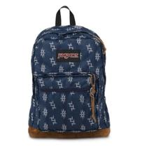Jansport Right Pack World Backpack in Navy Tokyo Nights T49zzb6 Photo