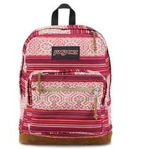 Jansport Right Pack World Backpack in Red Tape Shanghai Sunset T49zzb4 Photo