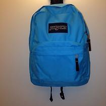Jansport School Backpack Mammoth Blue Superbreak College Middle High Elementrary Photo