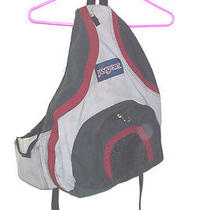 Jansport Slingpack Single Strap Backpack Book Bag Hikes Bike School Pack Photo