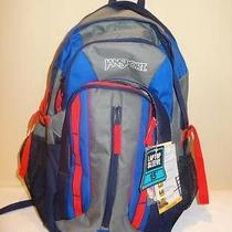 Jansport Sockeye Backpack  Navy Moonshine / Blue Streak Photo