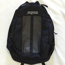 Jansport Sputnik Backpack Black Laptop Sleeve Photo