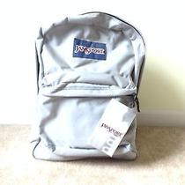 Jansport Super Break Chrome 036 Backpack New With Tags Photo